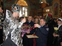 День Ангела у Митрополита Симферопольского и Крымского Лазаря